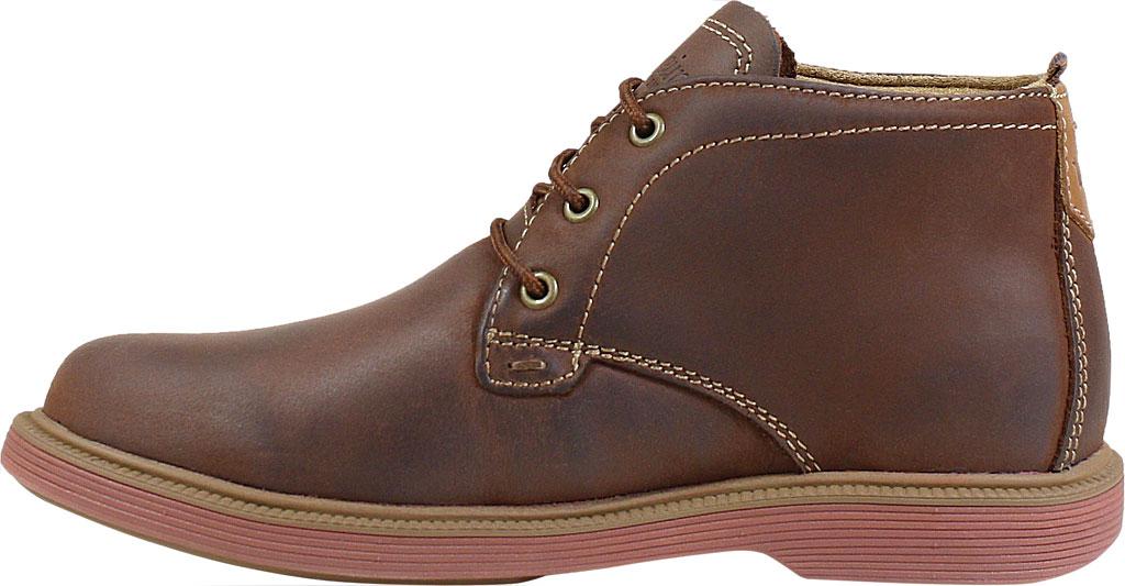 Boys' Florsheim Supacush Chukka Boot Jr., Brown Chocolate Leather, large, image 3