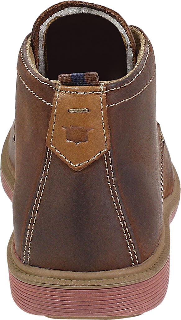 Boys' Florsheim Supacush Chukka Boot Jr., Brown Chocolate Leather, large, image 4