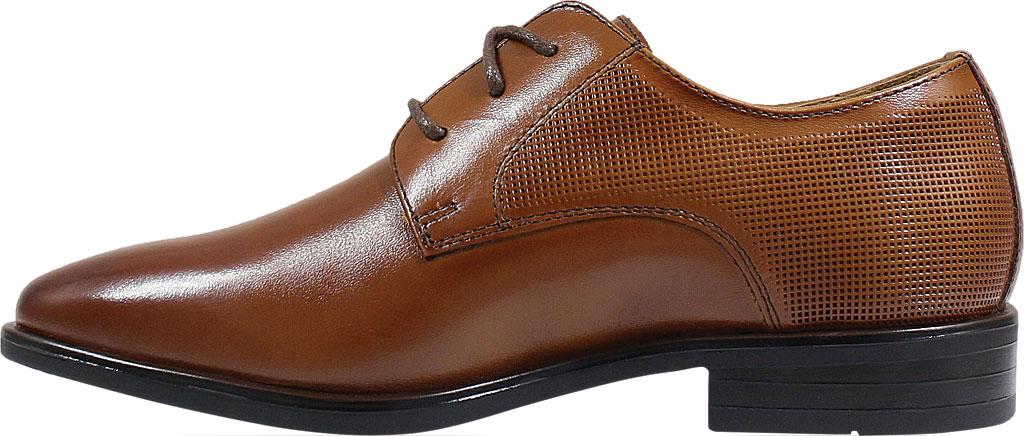 Boys' Florsheim Postino Plain Toe Oxford Jr., Cognac Leather, large, image 3