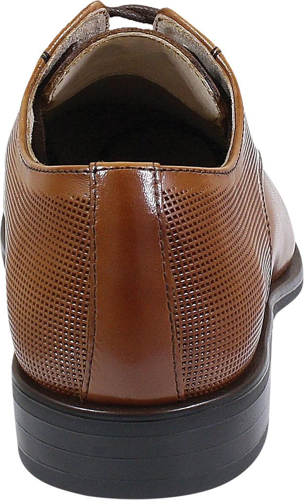 Boys' Florsheim Postino Plain Toe Oxford Jr., Cognac Leather, large, image 4