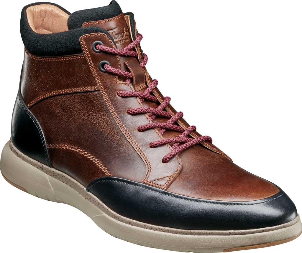 Men's Florsheim Flair Moc Toe Lace Up Ankle Boot, , large, image 1