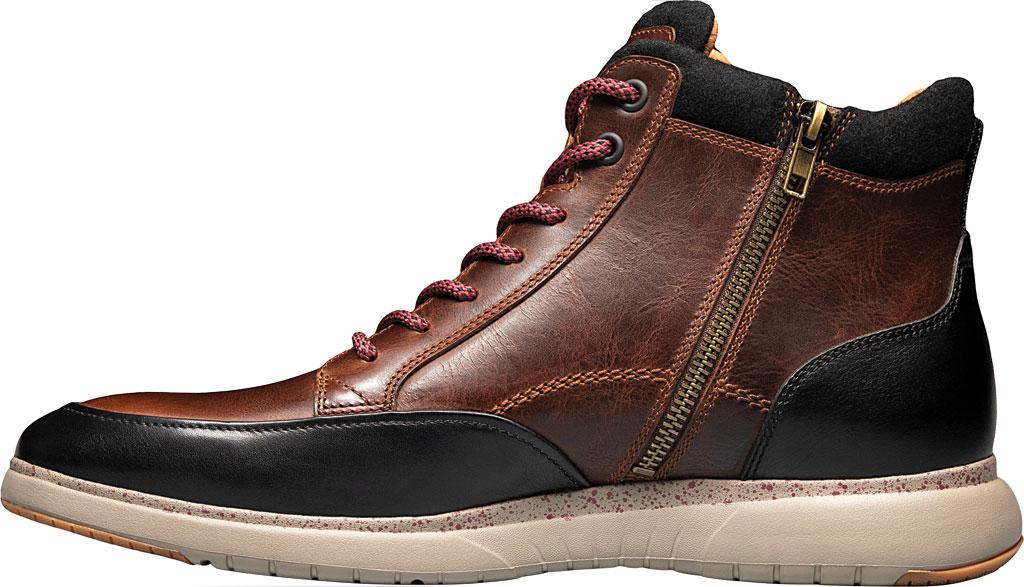 Men's Florsheim Flair Moc Toe Lace Up Ankle Boot, , large, image 3