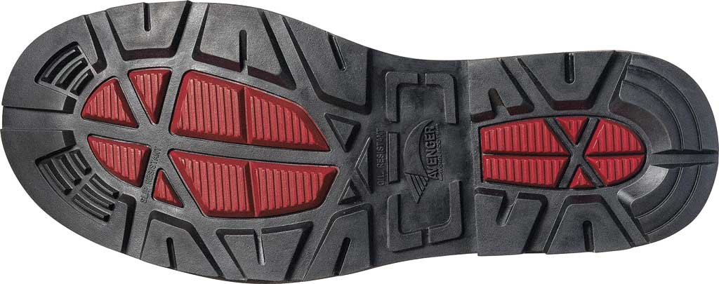 Men's Avenger A7581 Composite Toe PR Waterproof Work Boot, Black Synthetic, large, image 2