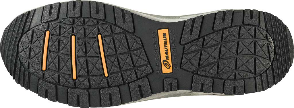 Men's Nautilus N2502 Steel Toe Athletic Shoe, Grey Action Nubuck Leather/Mesh, large, image 2