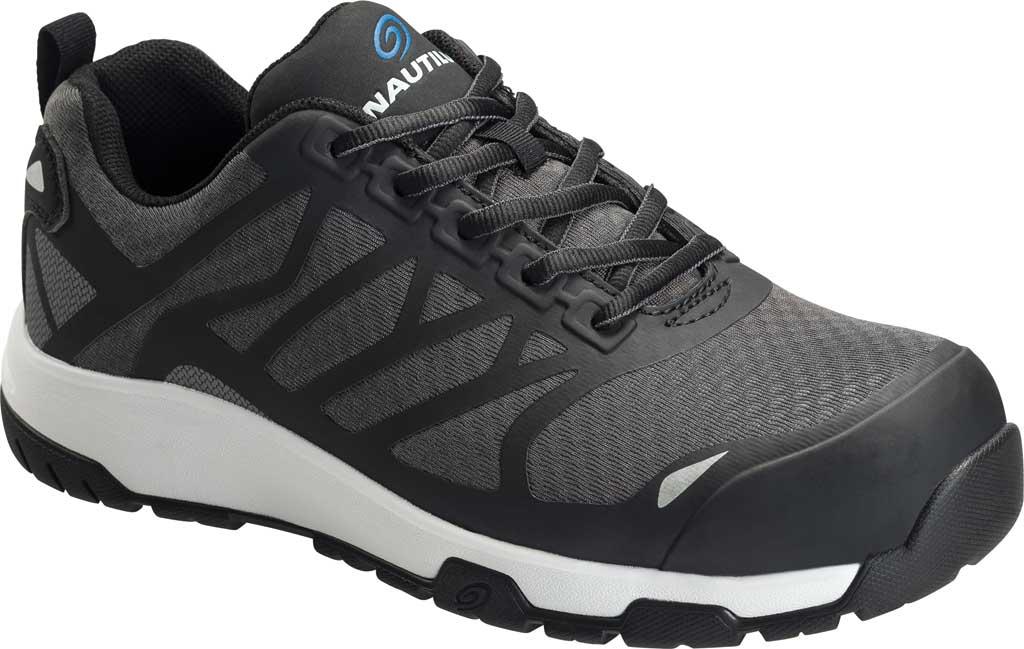 Men's Nautilus 2427 Velocity ESD Carbon Toe Work Shoe, Black Mesh/Synthetic, large, image 1
