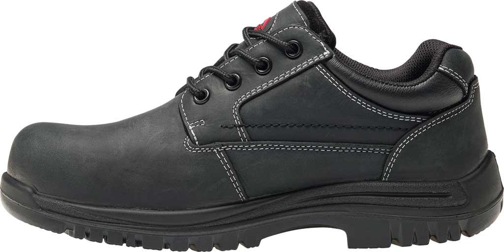 Men's Avenger A7119 Foreman Work Oxford, Black Full Grain Leather, large, image 3