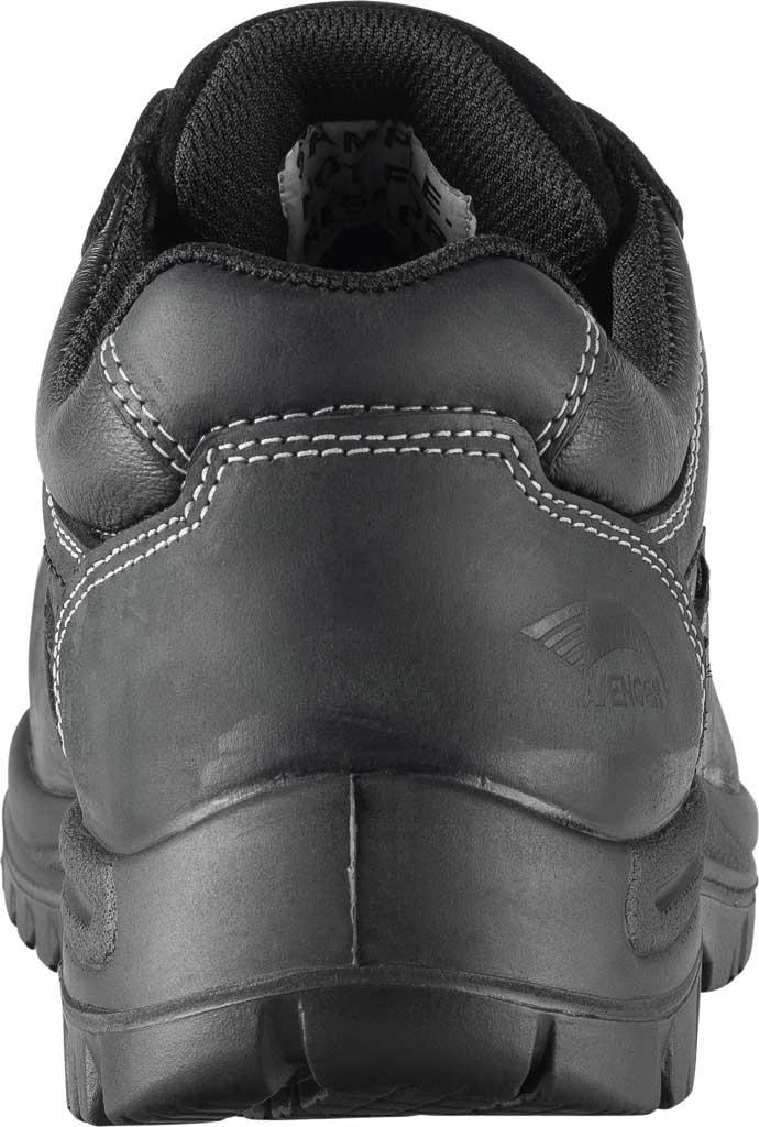 Men's Avenger A7119 Foreman Work Oxford, Black Full Grain Leather, large, image 4