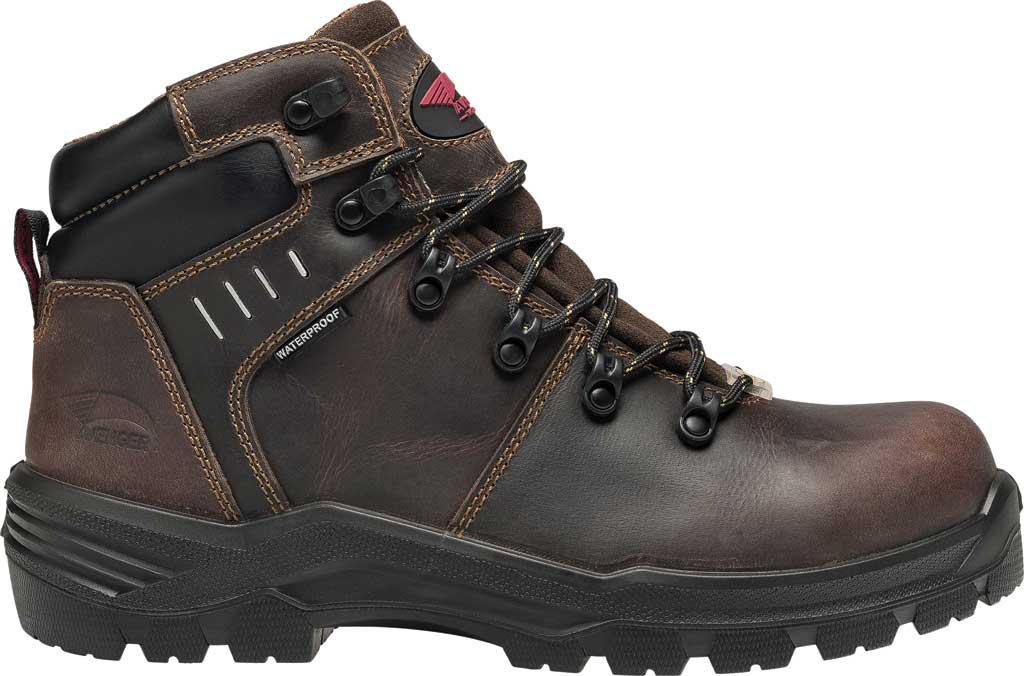"Men's Avenger A7401 Foundation 6"" Work Boot, Brown Full Grain Leather, large, image 2"