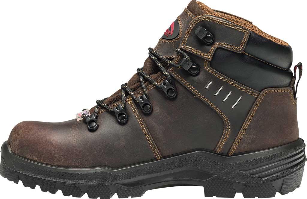"Men's Avenger A7401 Foundation 6"" Work Boot, Brown Full Grain Leather, large, image 3"