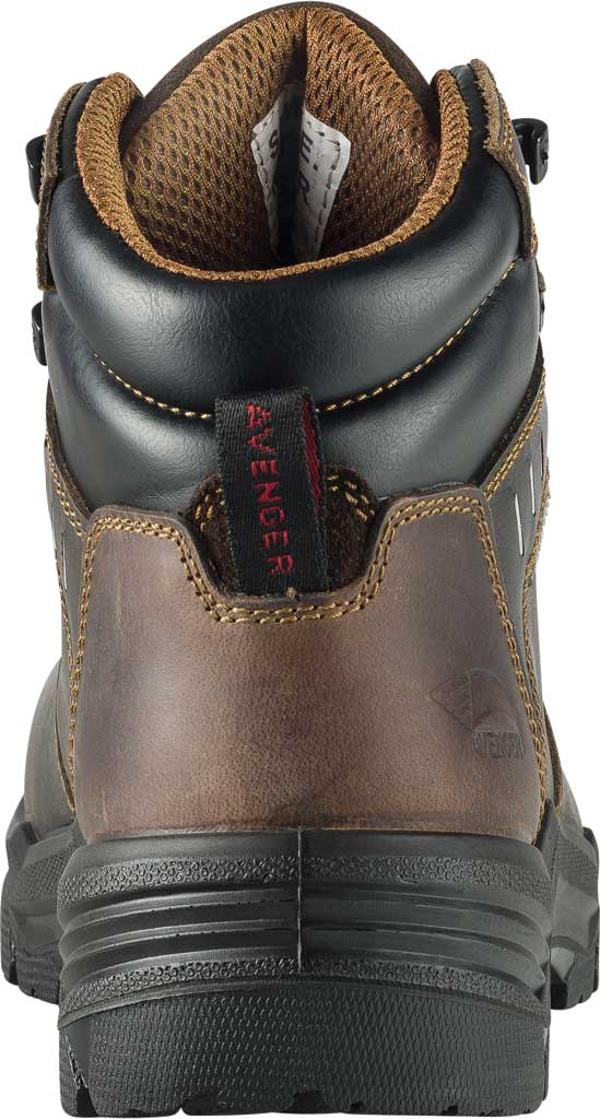 "Men's Avenger A7401 Foundation 6"" Work Boot, Brown Full Grain Leather, large, image 4"