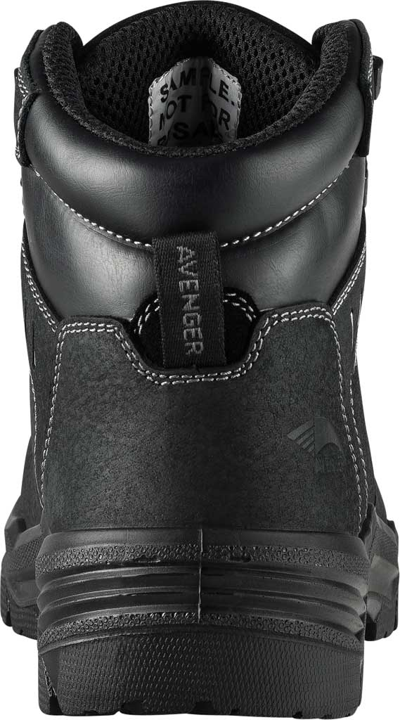"Men's Avenger A7400 Foundation 6"" Work Boot, Black Full Grain Leather, large, image 3"