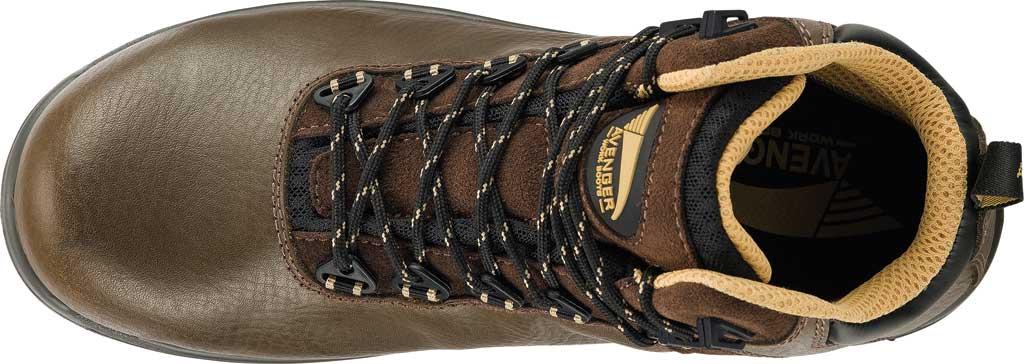 "Men's Avenger A7281 Breaker 6"" Work Boot, Brown Leather, large, image 5"