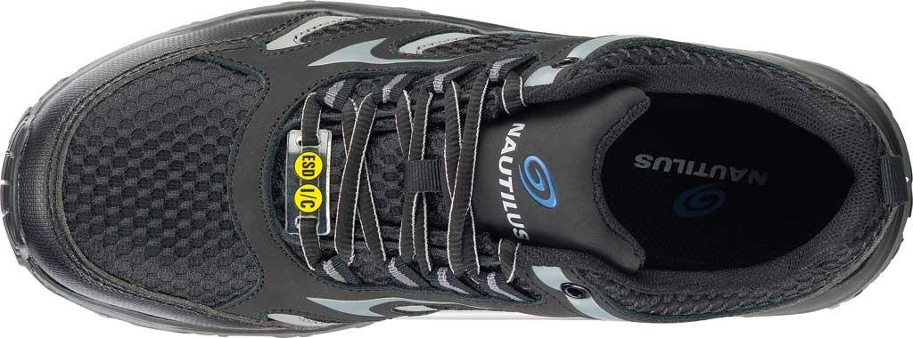 Men's Nautilus N1570 Tempest Low ESD Safety Shoe, Black Mesh/Leather, large, image 5