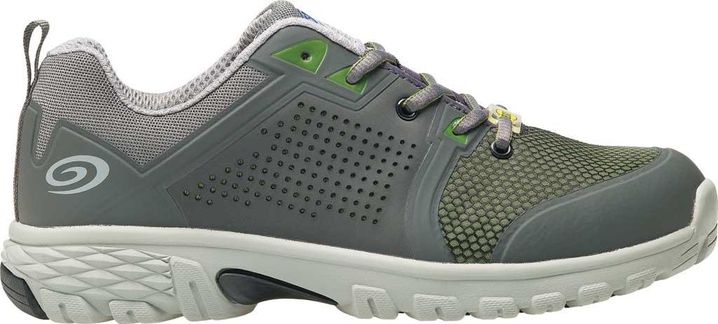 Men's Nautilus N1311 Zephyr ESD Safety Shoe, Grey/Green Textile, large, image 2