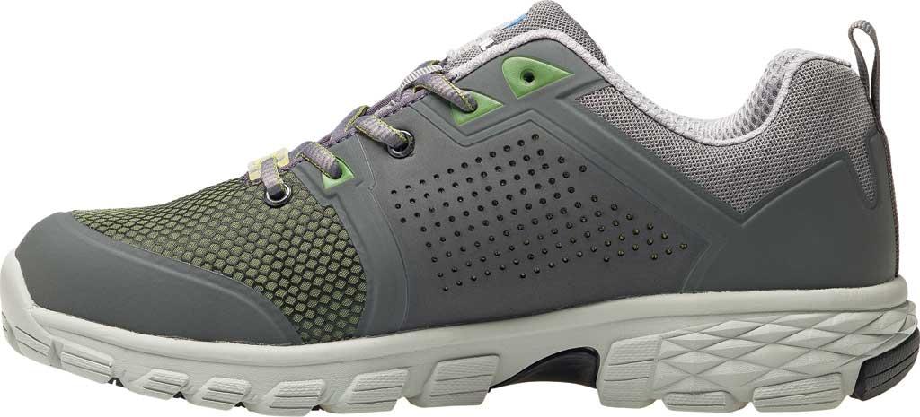 Men's Nautilus N1311 Zephyr ESD Safety Shoe, Grey/Green Textile, large, image 3