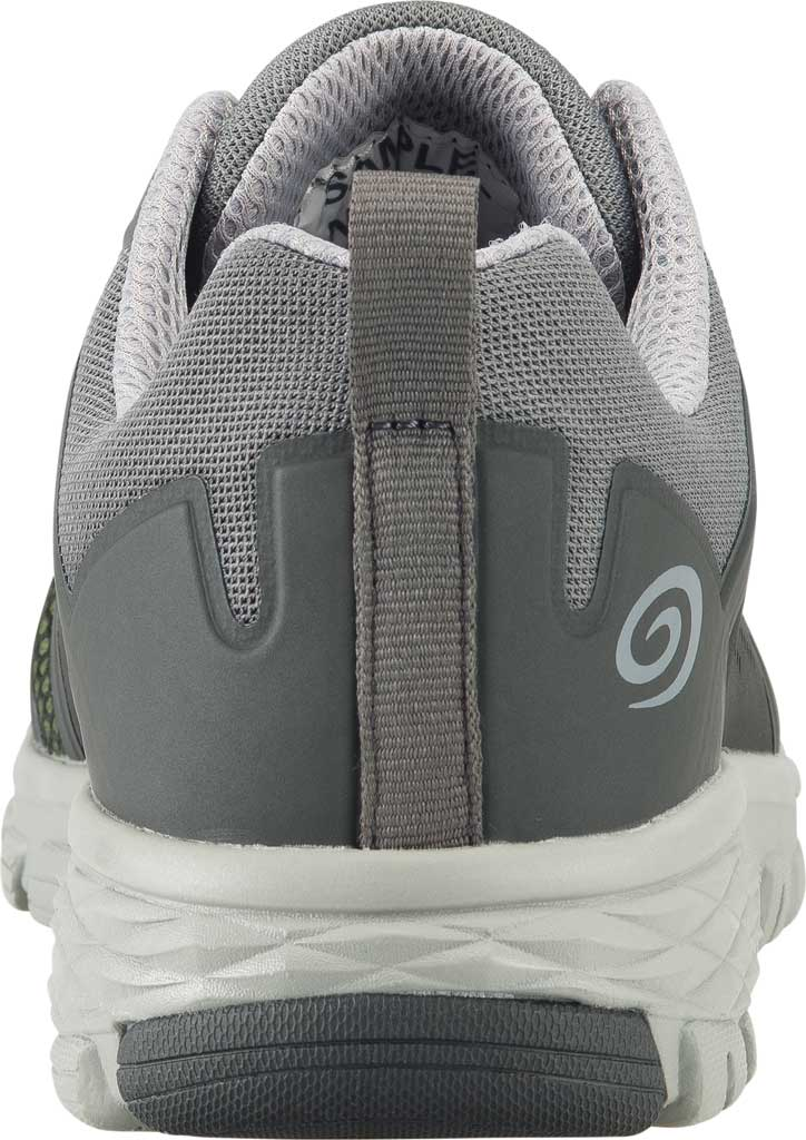 Men's Nautilus N1311 Zephyr ESD Safety Shoe, Grey/Green Textile, large, image 4