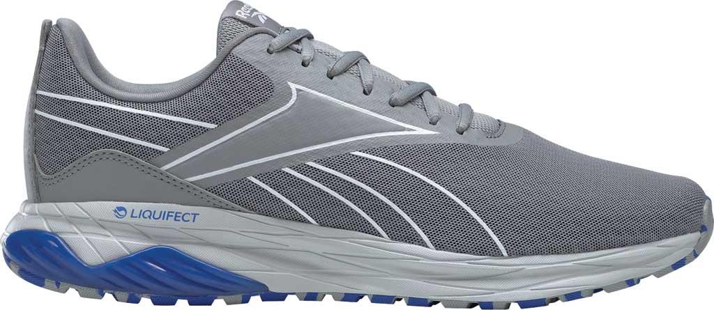 Men's Reebok Liquifect 180 2.0 Running Shoe, Pure Grey/White/Blue, large, image 2