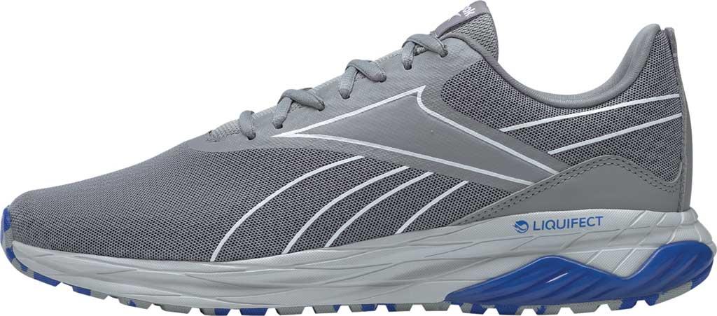 Men's Reebok Liquifect 180 2.0 Running Shoe, Pure Grey/White/Blue, large, image 3