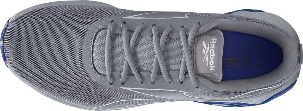 Men's Reebok Liquifect 180 2.0 Running Shoe, Pure Grey/White/Blue, large, image 5