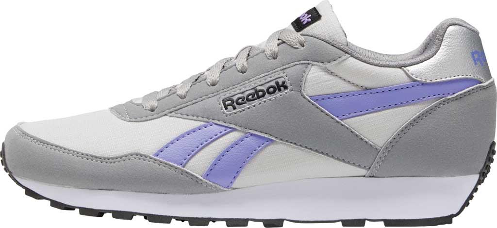 Women's Reebok Rewind Running Sneaker, Pure Grey 2/Hyper Purple/Pure Grey 5, large, image 3