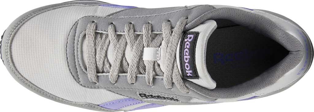 Women's Reebok Rewind Running Sneaker, Pure Grey 2/Hyper Purple/Pure Grey 5, large, image 5