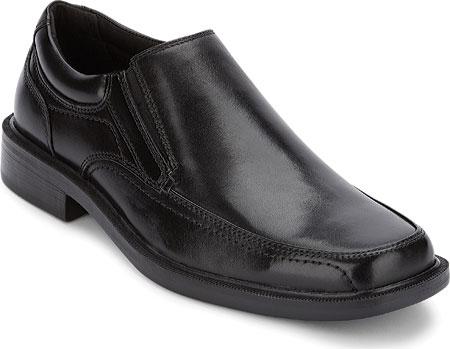 Men's Dockers Edson Slip On, Black Polished Full Grain, large, image 1