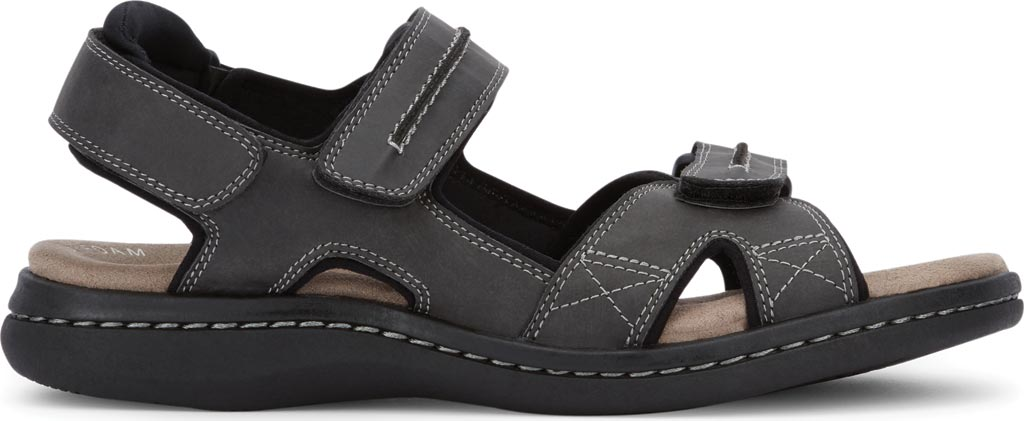 Men's Dockers Newpage Sport Sandal, Grey, large, image 2