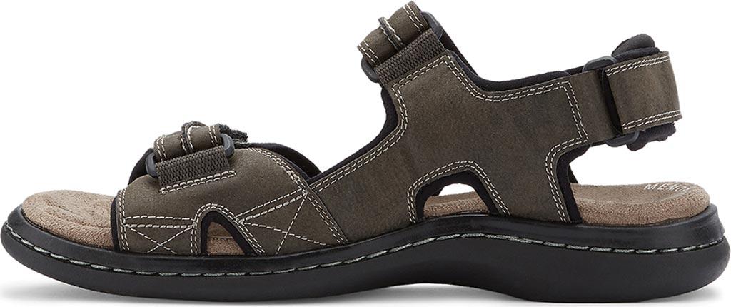 Men's Dockers Newpage Sport Sandal, Grey, large, image 3