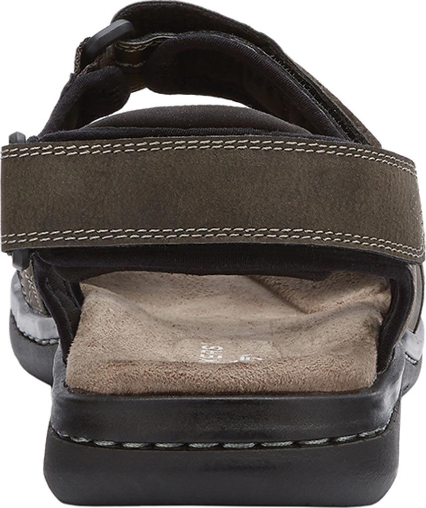 Men's Dockers Newpage Sport Sandal, Grey, large, image 4
