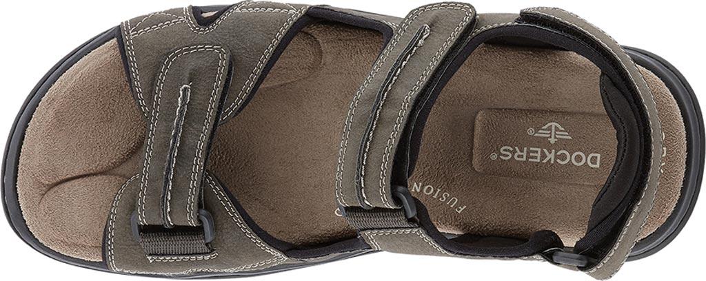 Men's Dockers Newpage Sport Sandal, Grey, large, image 5