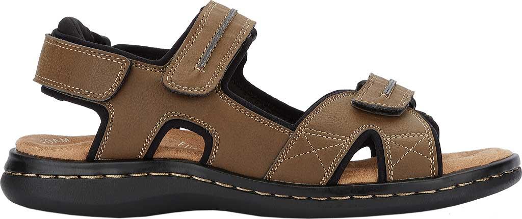 Men's Dockers Newpage Sport Sandal, Dark Tan, large, image 2