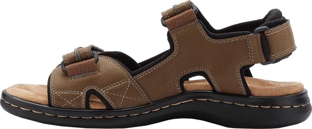 Men's Dockers Newpage Sport Sandal, Dark Tan, large, image 3