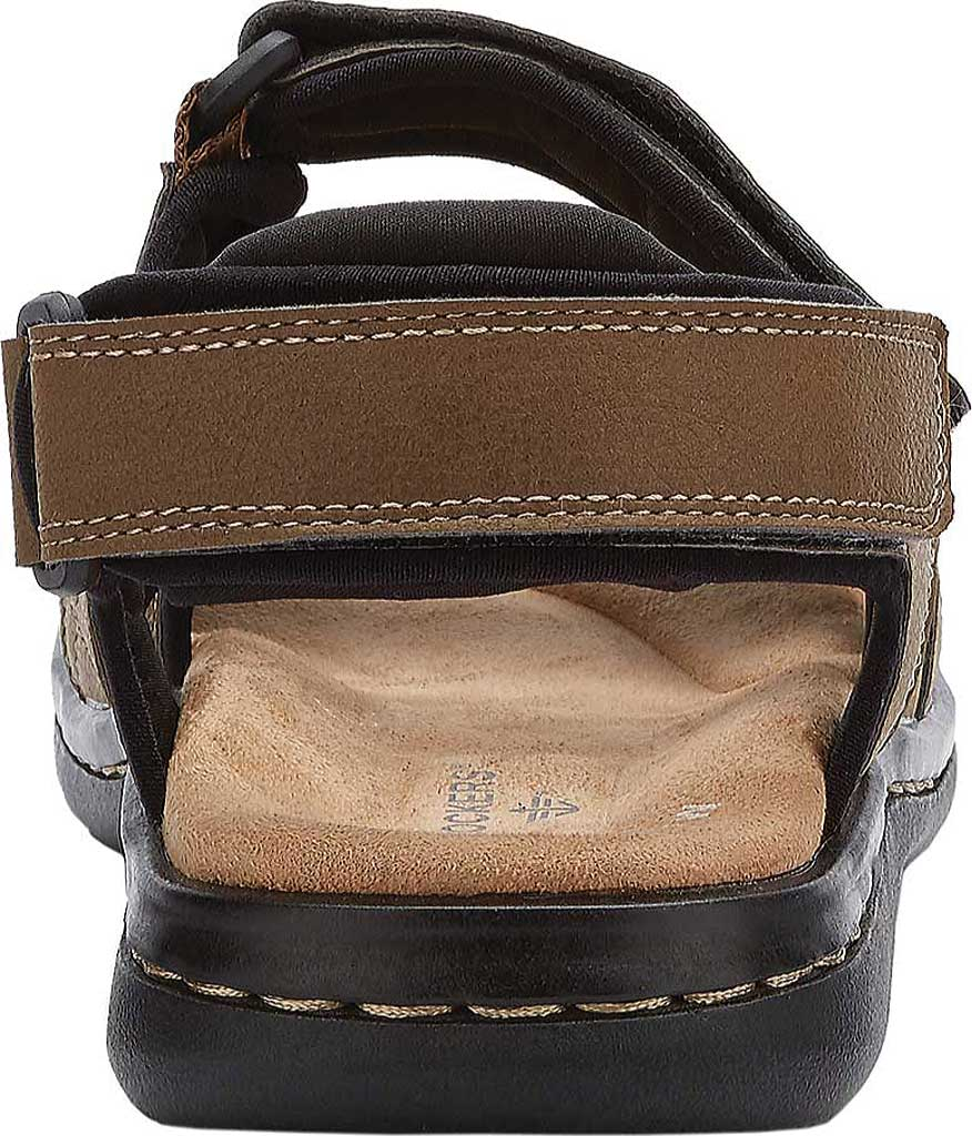 Men's Dockers Newpage Sport Sandal, Dark Tan, large, image 4