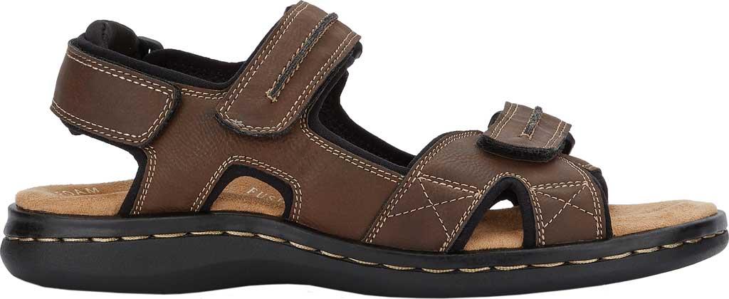 Men's Dockers Newpage Sport Sandal, Briar, large, image 2