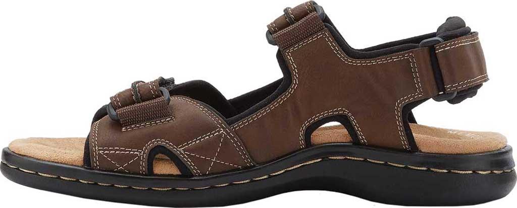 Men's Dockers Newpage Sport Sandal, Briar, large, image 3