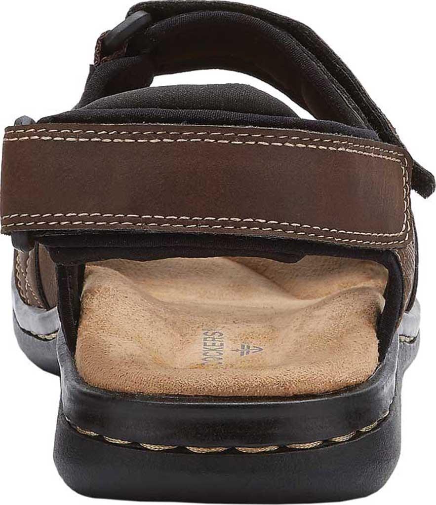 Men's Dockers Newpage Sport Sandal, Briar, large, image 4