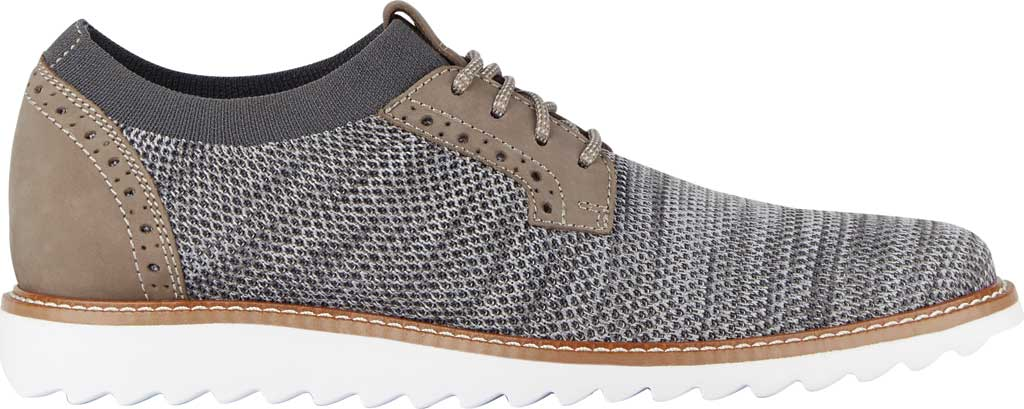 Men's Dockers Feinstein Sneaker, Grey Marbled Knit/Nubuck, large, image 2