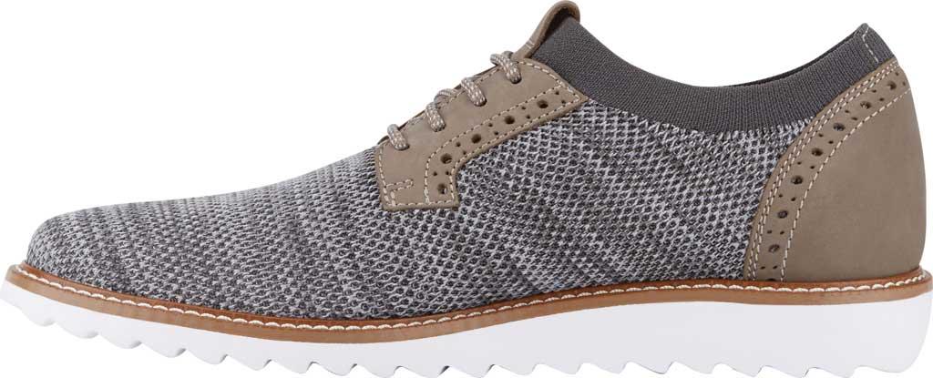 Men's Dockers Feinstein Sneaker, Grey Marbled Knit/Nubuck, large, image 3