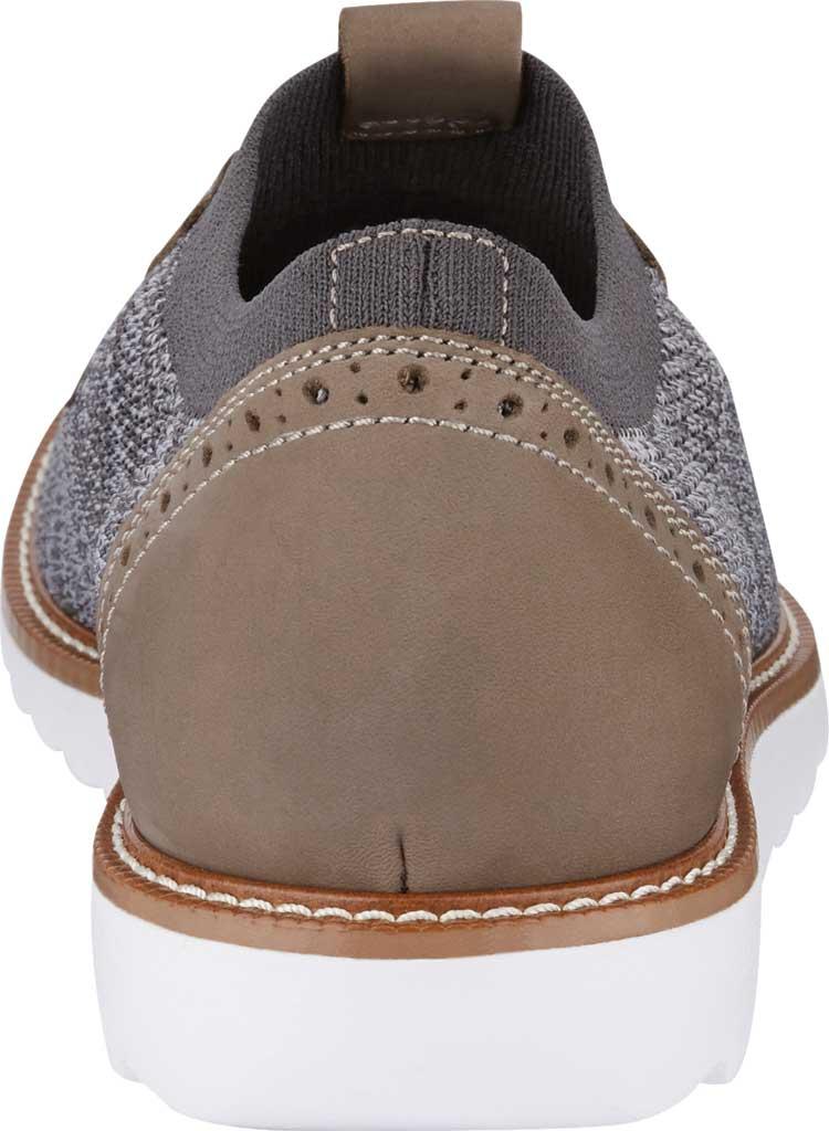 Men's Dockers Feinstein Sneaker, Grey Marbled Knit/Nubuck, large, image 4