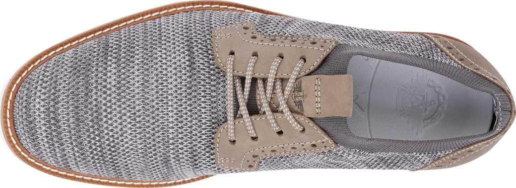 Men's Dockers Feinstein Sneaker, Grey Marbled Knit/Nubuck, large, image 5