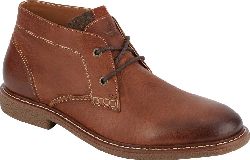 Men's Dockers Greyson Chukka Boot, Cognac Full Grain Leather, large, image 1