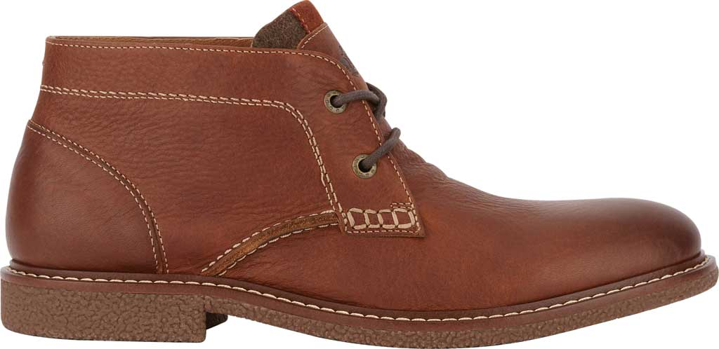 Men's Dockers Greyson Chukka Boot, Cognac Full Grain Leather, large, image 2