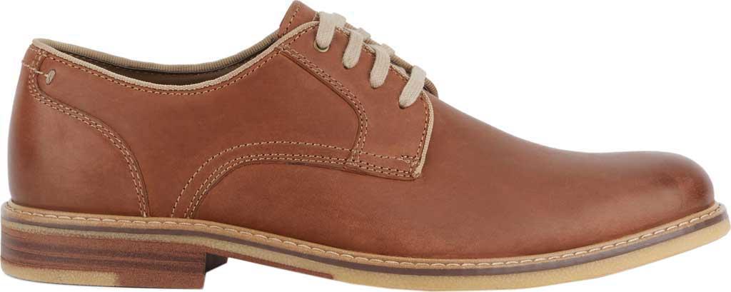 Men's Dockers Martin Plain Toe Oxford, Tan Full Grain Leather, large, image 2