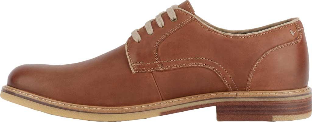 Men's Dockers Martin Plain Toe Oxford, Tan Full Grain Leather, large, image 3