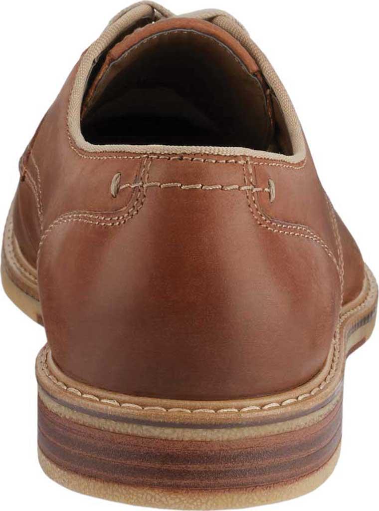 Men's Dockers Martin Plain Toe Oxford, Tan Full Grain Leather, large, image 4