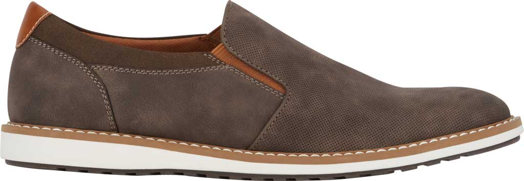 Men's Dockers Bryant Slip On, Brown Distressed Synthetic, large, image 2