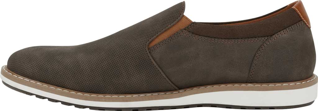 Men's Dockers Bryant Slip On, Brown Distressed Synthetic, large, image 3