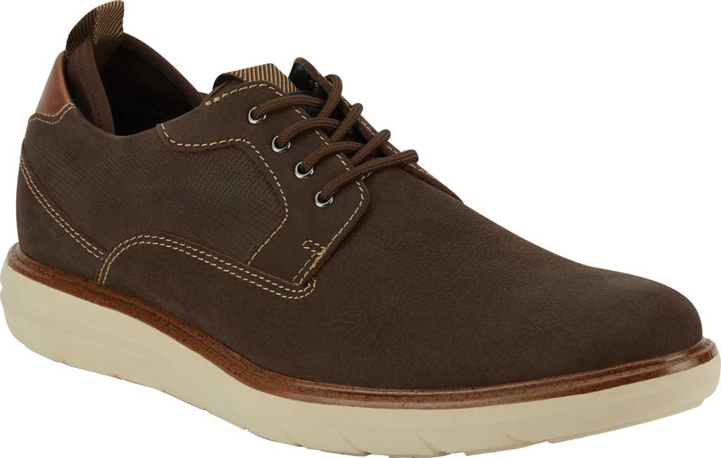 Men's Dockers Cabot Oxford, Chocolate Leather, large, image 1