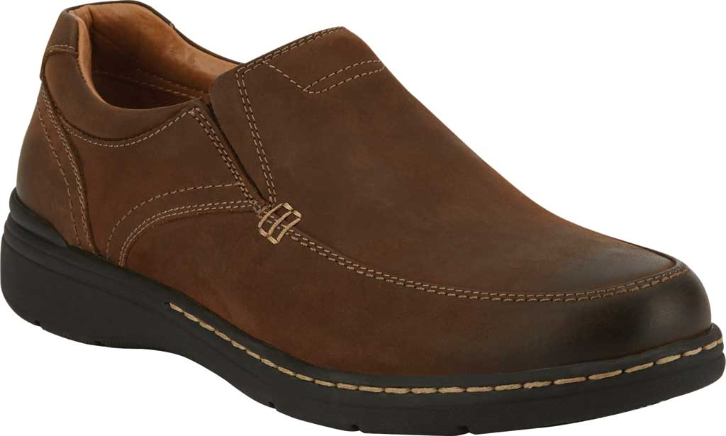 Men's Dockers Mendon Loafer, Chocolate Leather, large, image 1