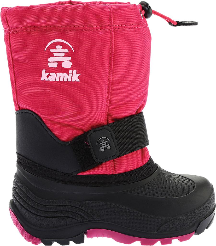 Children's Kamik Rocket Pull On Boot, Rose Waterproof 600 Denier Nylon/Synthetic Nubuck, large, image 2